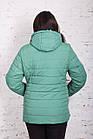Весенняя женская куртка батальных размеров модель 2018 - (кт-267), фото 5
