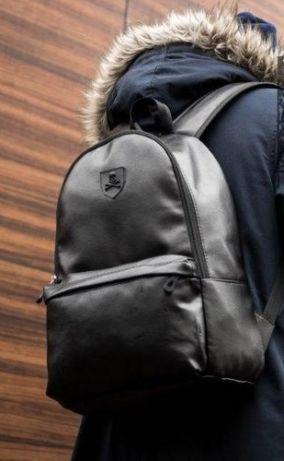Рюкзак PU экокожа мужской Philipp Plein . С разными эмблемами .