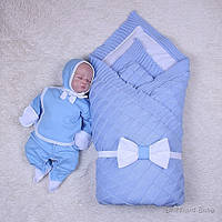 Демисезонный комплект Мечта+Малыш, голубой, фото 1