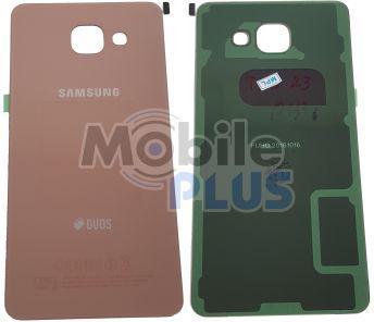Samsung SM-A510 Galaxy A5 2016 Задняя стеклянная крышка, Pink Gold, original (PN:GH82-11300D)