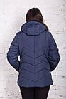 Женская куртка с капюшоном больших размеров модель 2018 - (кт-269), фото 5