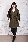 Кашемировое женское пальто AMAZONKA весна 2018 - (рр-80), фото 3