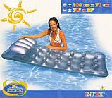 Матрас надувной Intex 58894 с надувной подушкой 188 х 71 см, фото 4