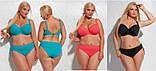 Польский купальник женский раздельный черный Kris Line Beach (купальники большого размера, плотная чашка) , фото 2