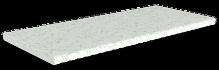 Тонкиий матрас Take Go Tоппер Top White 120x200 см (24528), фото 2