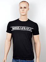 "Мужская футболка ""NIKE-18001"" черный, фото 1"