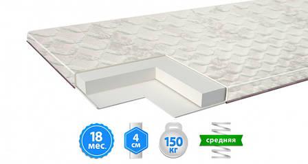 Тонкий матрас Uno Топпер Top-L 90x190 см (48755), фото 2
