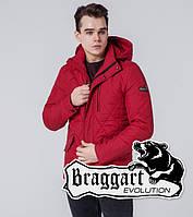 Braggart 1462 | Мужская стеганая ветровка красный