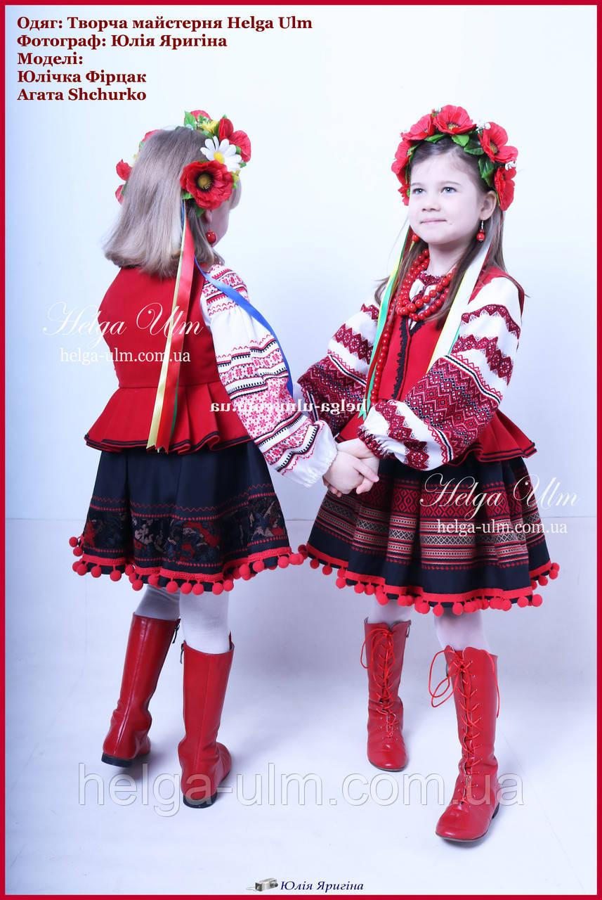 Український національний костюм для дівчинки (4 одиниці) на замовлення - 98  р. 533e4f572f9a7