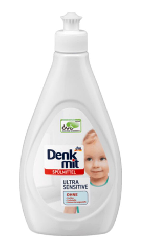 Средство для мытья детской посуды Denkmit Ultra Sensitive 500мл, фото 2