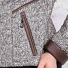 Стеганная женская ветровка из плащевки модель 2018 - (кт-275), фото 7
