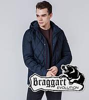 Braggart 1462   Стеганая ветровка мужская синий