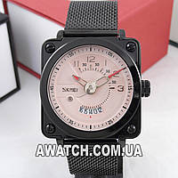 Мужские кварцевые наручные часы Skmei 9172 WR30M