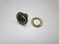 Люверс 3 мм (7,5 х 3,5 х 5 мм) антик