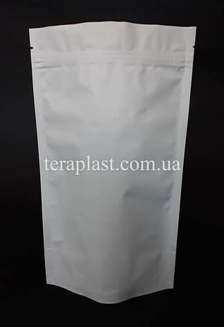 Дой-Пак 250г белый 140х240 с зип замком, фото 2