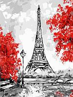 "Картина по номерам ""Эйфелева башня"" 30*40см"