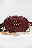 Современная сумочка цвета марсала, фото 1