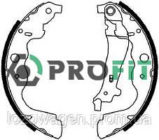 Задние барабанные тормозные колодки на Duster PROFIT 5001-4031