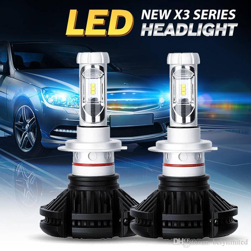 LED лампы X3 H4 XENON