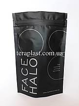 Пакет Дой-Пак черный 100г 130х200 с печатью в 1 цвет