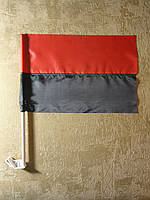 Флаг УПА нейлон 37х24см   Прапор УПА нейлон 37х24см