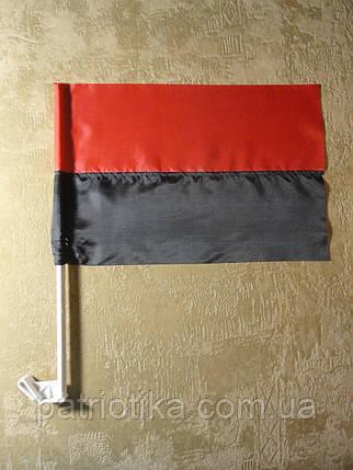 Флаг УПА нейлон 37х24см | Прапор УПА нейлон 37х24см, фото 2