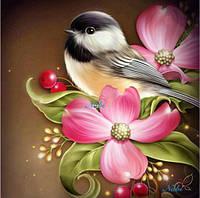 """Алмазная вышивка """"Прекрасная птичка"""", фото 1"""