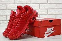 Мужские красные кроссовки Nike Air Max TN Plus Ultra, фото 1