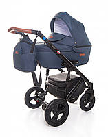 Детская универсальная коляска Broco Capri textile