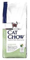 Cat Chow (Кэт Чау) Special Care Sterilized Корм для стерилизованных кошек и кастрированных котов, 15 кг