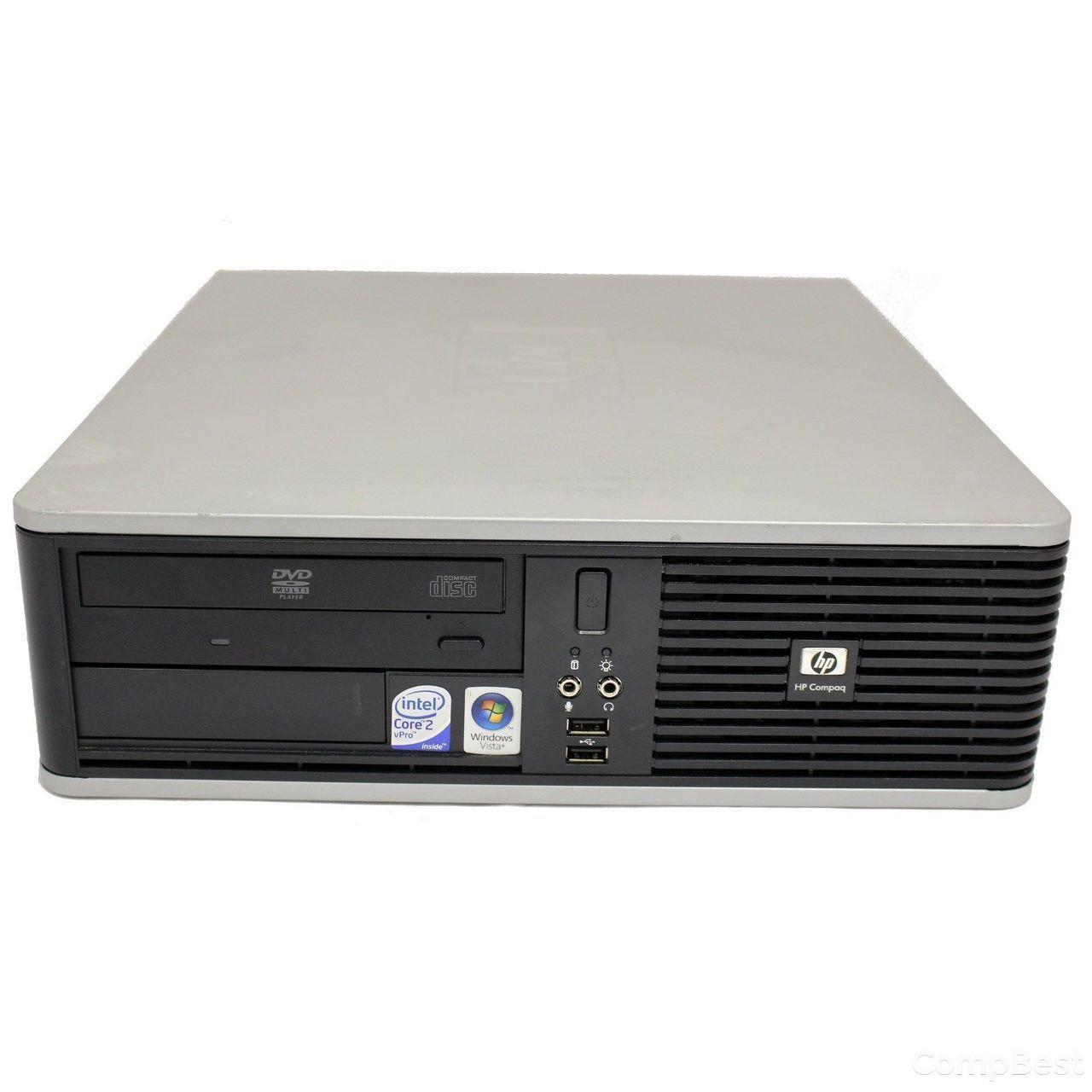 Hewlett-Packard DC7800 SFF / Intel Pentium Dual-Core E2160 (2 ядра по 1.8GHz) / 2GB DDR2 / 160GB HDD