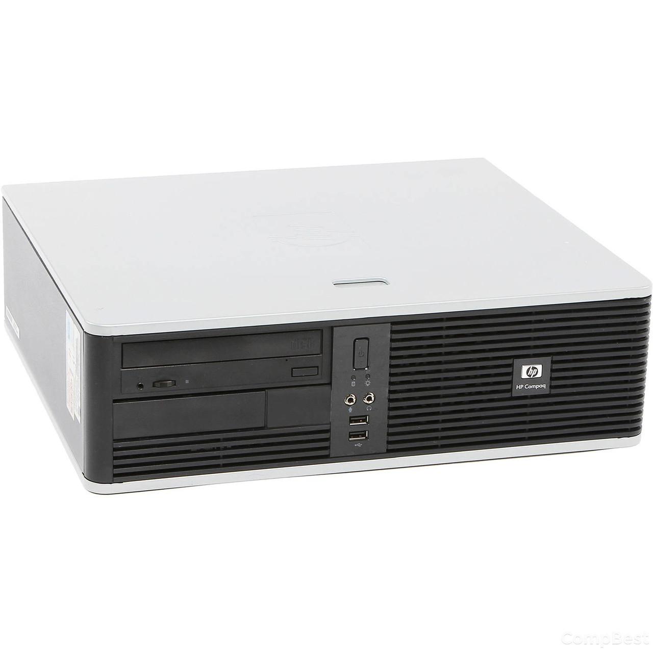 Hewlett-Packard DC5850 Desktop / AMD Athlon 5000b (2 ядра по 2.6GHz) / 4GB DDR2 / 160GB HDD