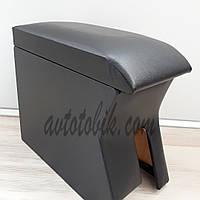 Подлокотник Daewoo Lanos, Sens (Деу Ланос, Сенс) черный без надписи, фото 1