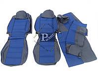 """Чехлы автомобильные Chevrolet Aveo (2002-2011) """"Пилот"""" (синие) - авточехлы для сидений Шевроле Авео"""