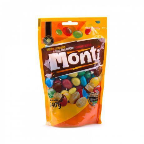 Monti шоколадні горішки 240 гр.