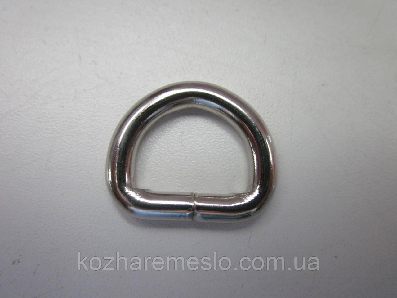 Полукольцо 4 х 20  х 15 мм никель