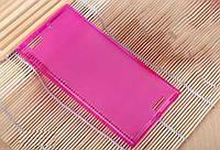 Розовый силиконовый чехол для Lenovo K900, фото 1