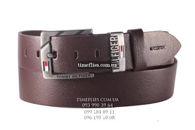 Купить Кожаный ремень Tommy Hilfiger №34  продажа abad39098105e