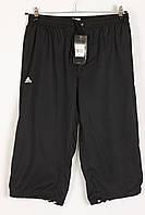 Бриджи шорты мужские в стиле Adidas 1016 Black Размеры L XL