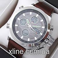 Мужские наручные часы AMST AM3003 Original на кожаном ремешке
