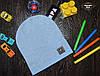 Демисезонная шапка для мальчика Men's Польша голубой