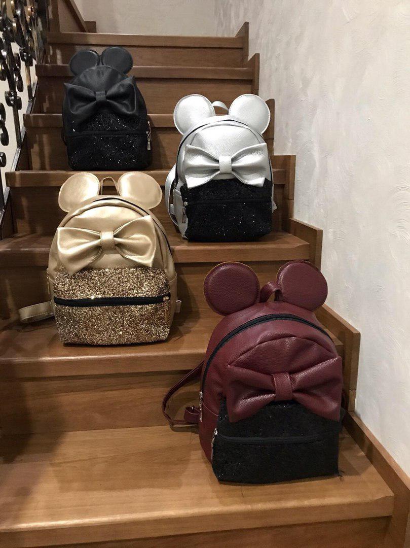 Рюкзак микки маус с бантом