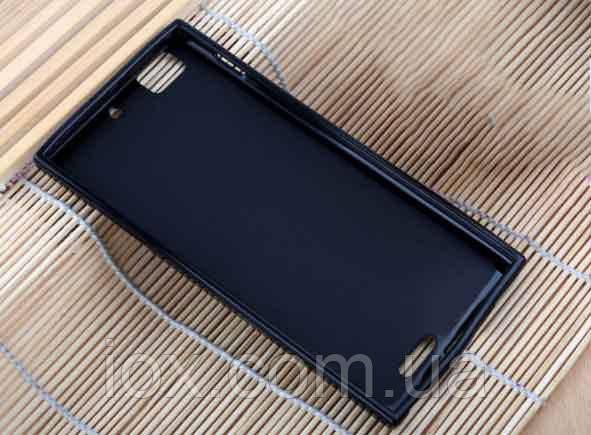 Черный силиконовый чехол для Lenovo K900
