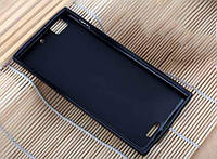 Черный силиконовый чехол для Lenovo K900, фото 1