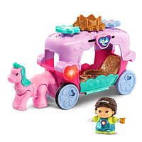 VTech Go! Go! карета для принцесс Smart Friends Trot and Travel Royal Carriage, фото 1