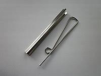 Прижим для купюр проволочный 80 мм никель