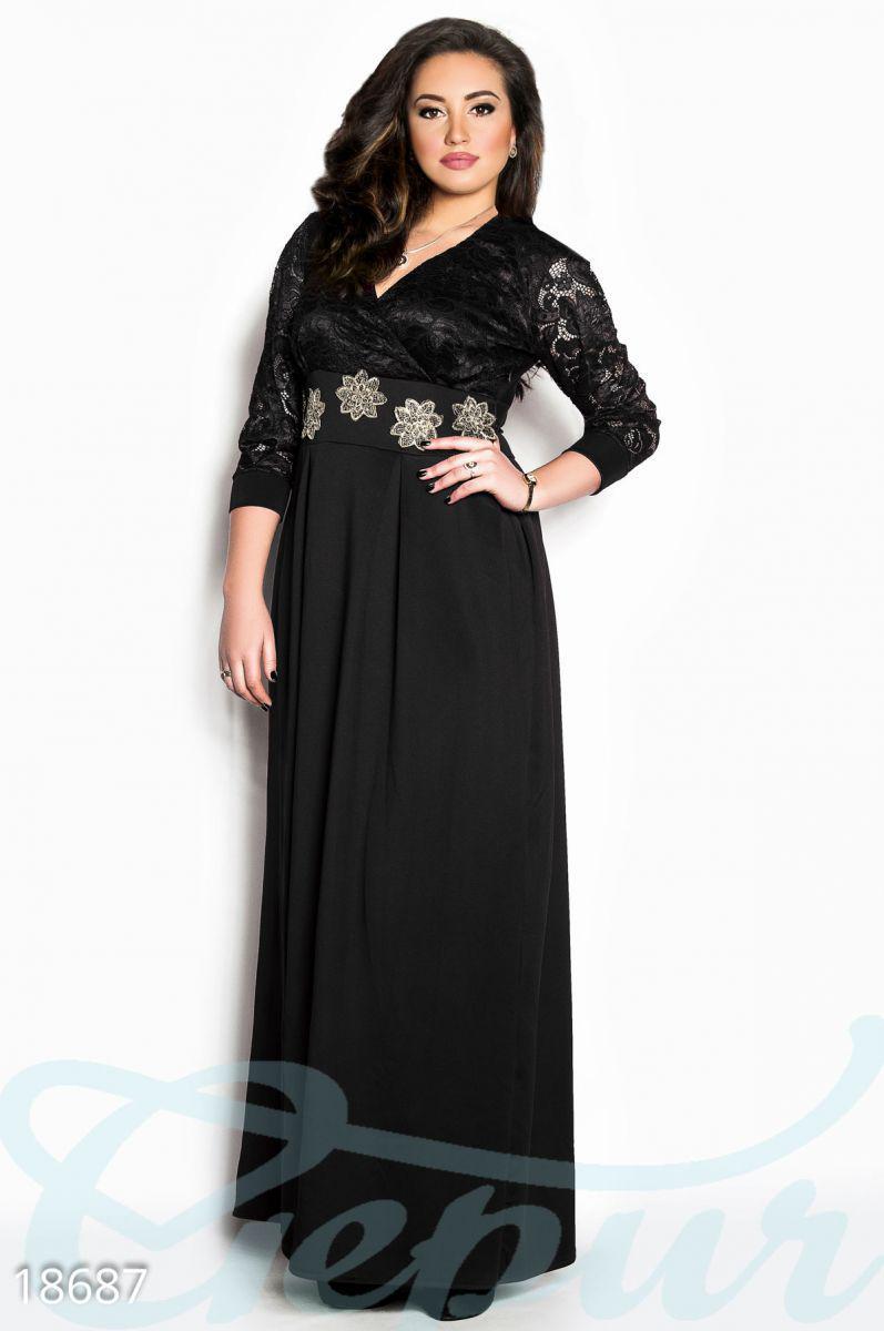 3a2b81fccb71222 Вечернее платье батал, цена 860 грн., купить в Мариуполе — Prom.ua ...