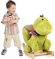 Кресло качалка мягкая Динозавр