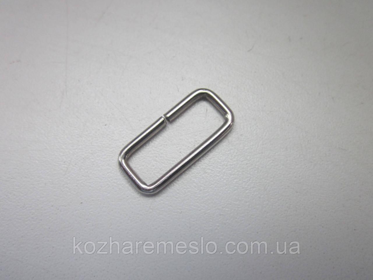 Рамка 2 х 20  х 10 мм никель