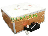 Инкубатор автоматический «Курочка Ряба» ИБ-130 вместимостью 130 яиц с двойным пластиковым корпусом, фото 1